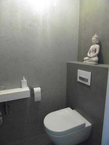 Meer stuctechnieken - Wandbekleding voor wc ...