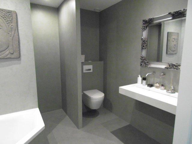 Uw badkamer waterdicht gestuct? In betonlook, Venetiaanse look of ...